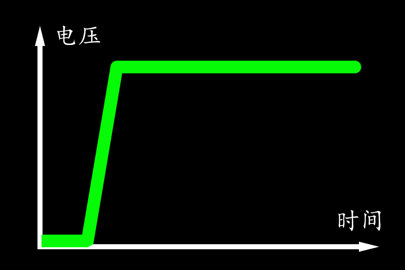 带软开启功能的MOS管电源开关电路